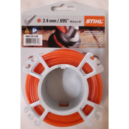 Fil de coupe 2.4mm x 14,6m