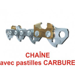 """Chaine CARBURE 325"""" -1,3mm..."""